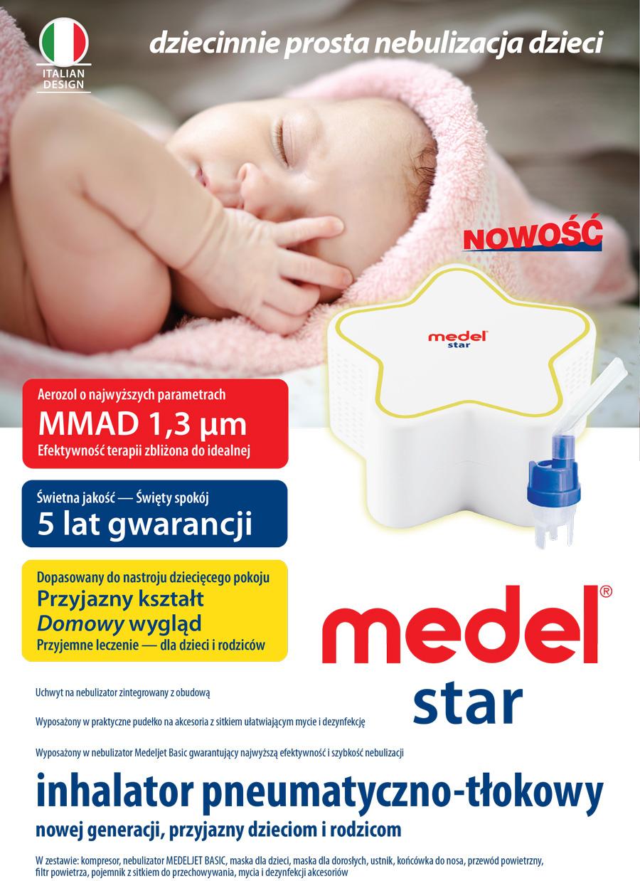 Medel Star - dziecinnie prosta nebulizacja